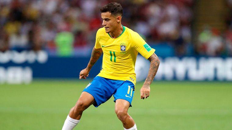 Coutinho ejerce de líder en Brasil y coge aire para su vuelta al Barça