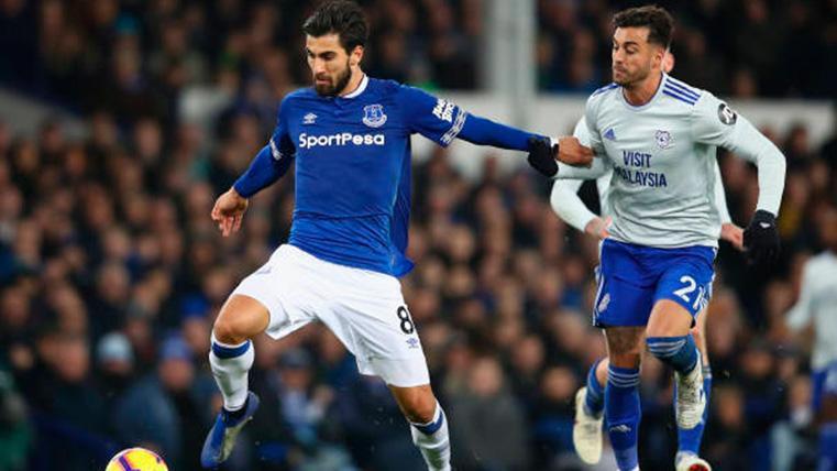 Inter y Everton, interesados en llevarse a André Gomes del Barça