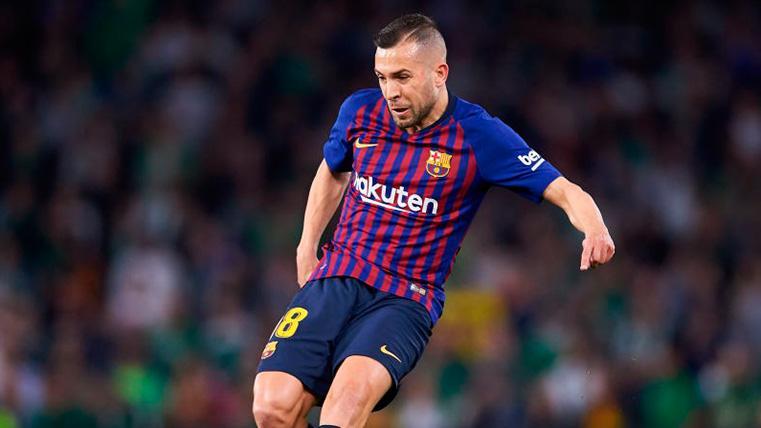 """Jordi Alba no contempla perder la Liga: """"Perder esta Liga sería de ser muy tontos"""""""