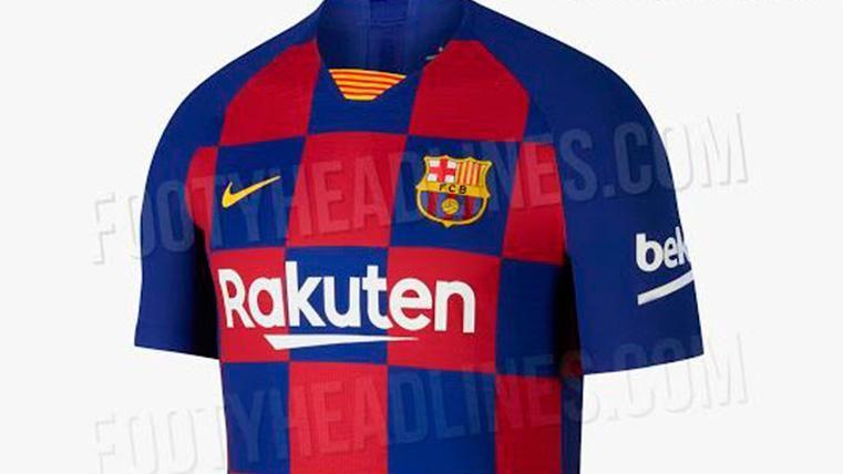 La nueva camiseta del FC Barcelona