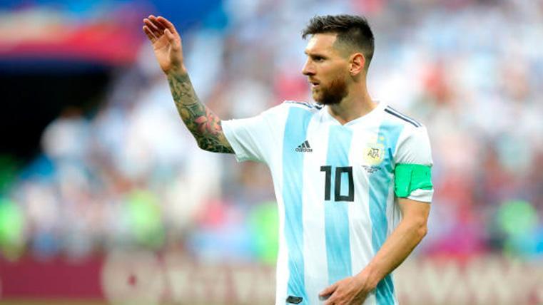 En Argentina se pronuncian sobre el estado físico de Messi