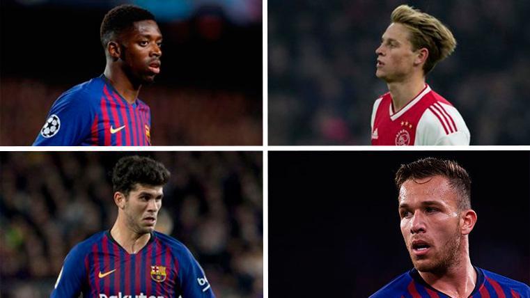 Los jóvenes 'cracks' que aseguran el cambio generacional en el FC Barcelona