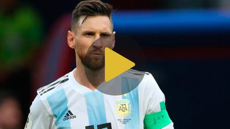 ILUSIÓN: Argentina celebra el regreso de Messi con un vídeo viral en las redes