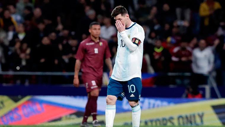 Ni Leo Messi salva el experimento fallido de la selección de Argentina (1-3)