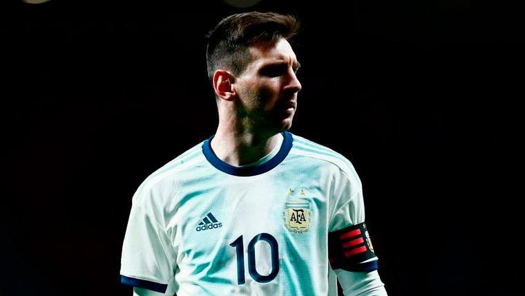 Al barcelonismo le preocupa el Messi que le 'devuelve' Argentina