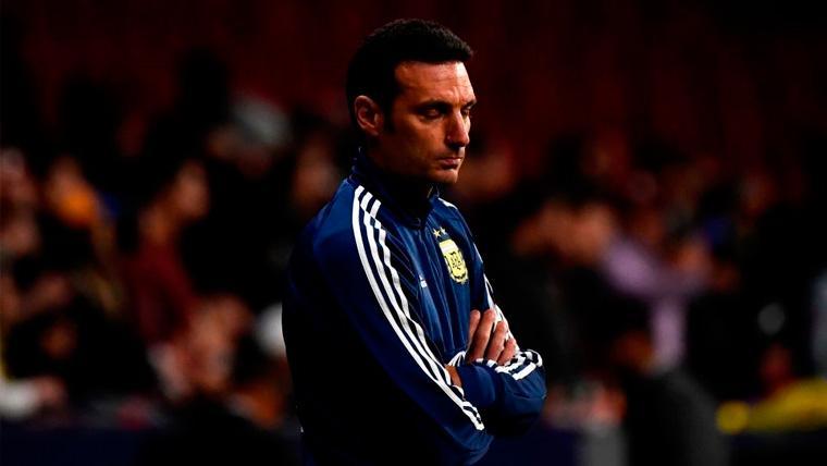 Scaloni insta a sus jugadores a dar un paso adelante para ayudar a Messi