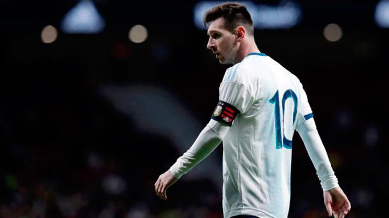 Leo Messi se interesó por cómo es la liga de los Estados Unidos