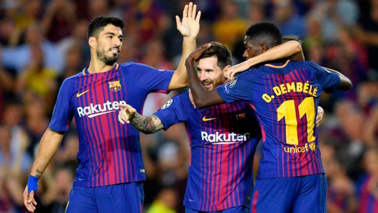 Problemas en la delantera del Barça: Dembélé, Luis Suárez... Y ahora Leo Messi