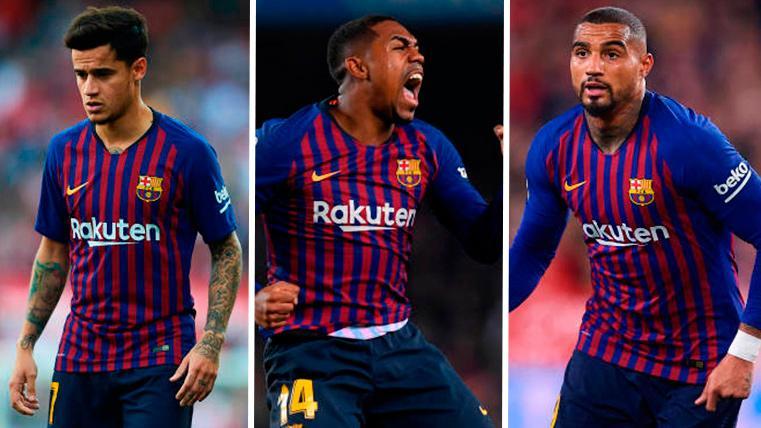 Oportunidad de oro para Coutinho, Malcom y Boateng en el FC Barcelona