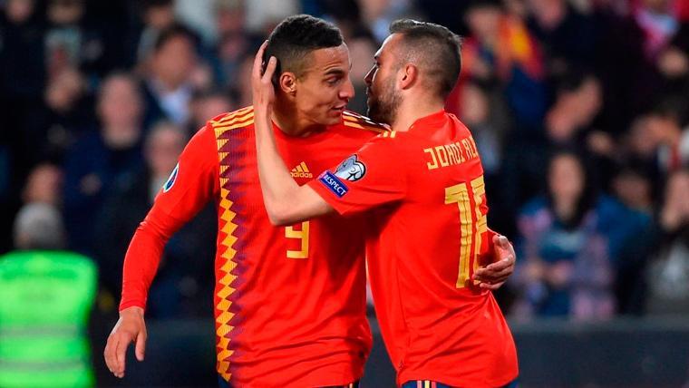 Alba también se sale con España y confirma porqué es uno de los mejores laterales del mundo