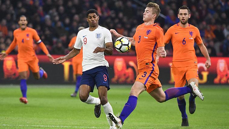 El Barça, presente en el Holanda-Alemania, pero no sólo para ver a Matthijs de Ligt