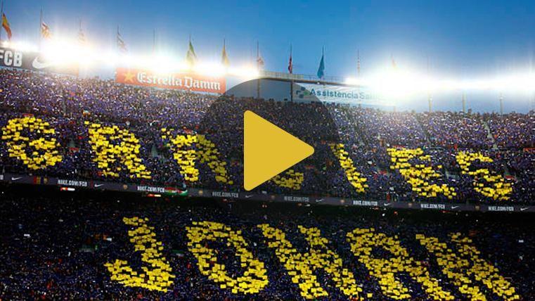 El homenaje del FC Barcelona a Johan Cruyff por el tercer aniversario de su muerte