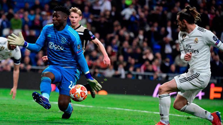 El Ajax quiere bloquear la salida de Onana al Barcelona