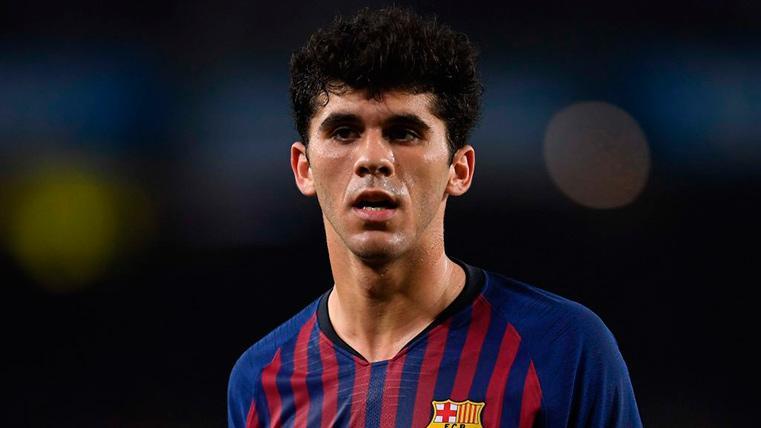 """El Aleñá más ambicioso: """"Trabajo para ser el futuro centrocampista del Barça"""""""