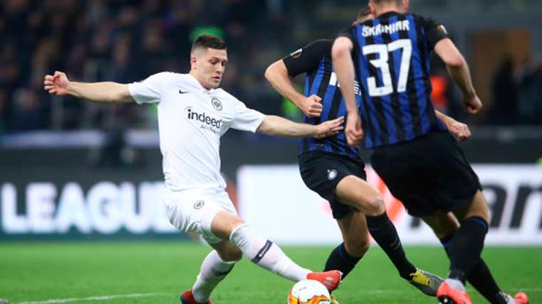 El Real Madrid se entromete en el fichaje de Luka Jovic por el Barça
