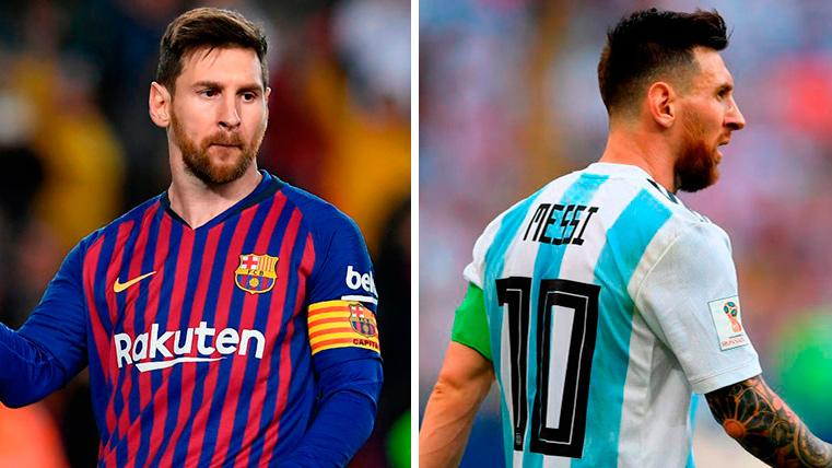 The Difference Between The Numbers Of Leo Messi With The Fc Barcelona And With Argentina