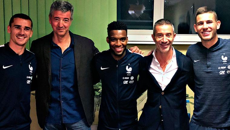 La espina del Barça con Griezmann, un caso muy distinto al de Neymar