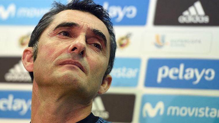 Valverde valora una semana clave para el Barça y habla de las lesiones de Messi y Dembélé