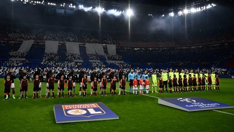 La UEFA sanciona al Barça y al Lyon por su duelo de Champions en Francia