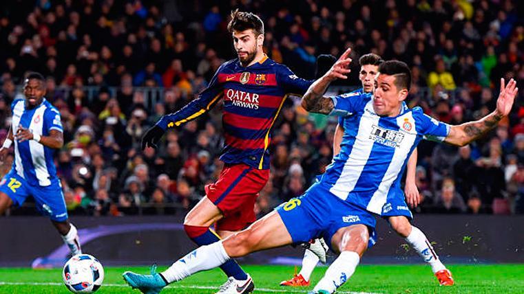 Gerard Piqué y el Espanyol, una historia que viene de lejos