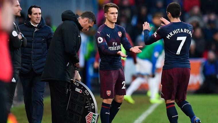 Unai Emery explica la situación de Denis Suárez en el Arsenal