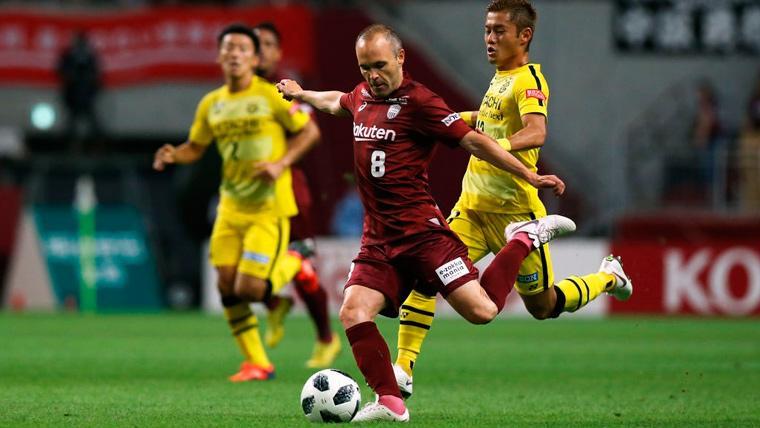El Vissel Kobe de Iniesta, Villa y Samper se asoma al liderato de la J1 League