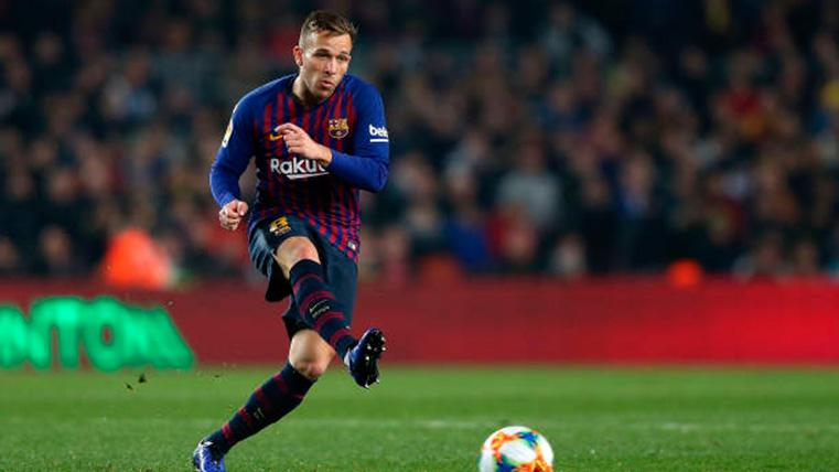 La importancia de Arthur para que el Barça gane el 'triplete'
