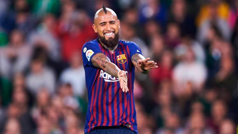 Arturo Vidal, oxígeno para el Barça cuando más lo necesita