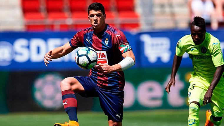 """Ander Capa pudo acabar en el Barça: """"Pidieron mi cesión, pero el Eibar no me dejó salir"""""""