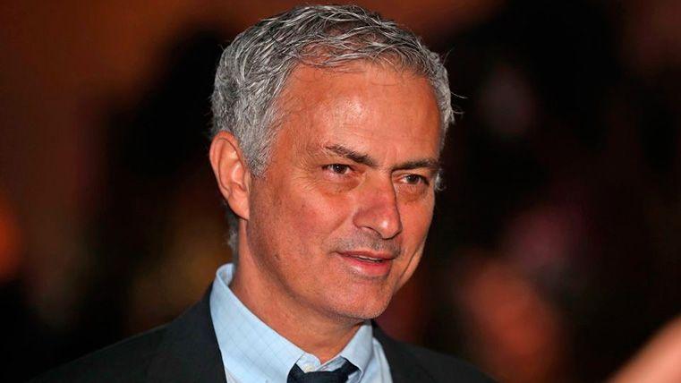 José Mourinho volvió a dirigir al Inter por un día en un partido muy especial