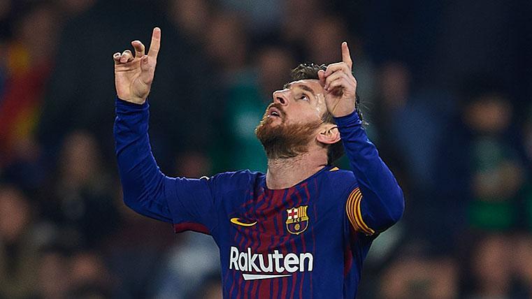 Leo Messi marcó un golazo ante el Espanyol
