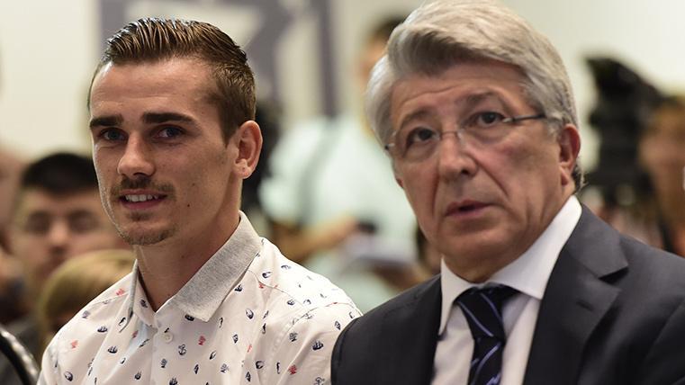 """""""Antoine Griezmann se queda en el Atlético, no se mueve"""""""