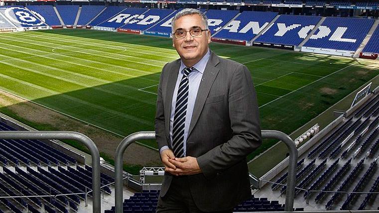 Joan Collet, ex presidente del Espanyol, insulta a los aficionados del Betis