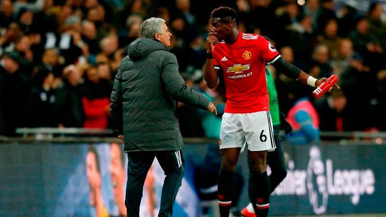 Mourinho dispara contra Pogba por una de sus peleas en el United