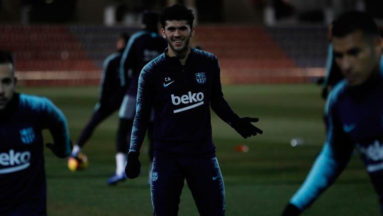 El consejo de Aleñá a los jóvenes de la Masia para triunfar en el Barça