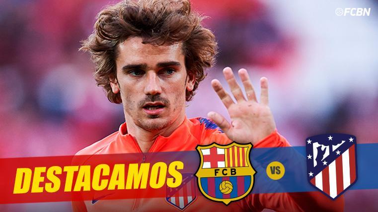 El Barça-Atlético de Griezmann: De rol secundario a protagonista