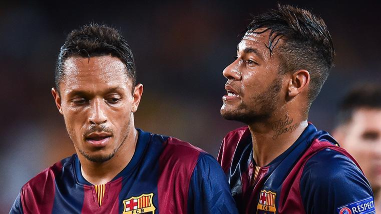 """Adriano habla sobre Neymar: """"Creo que Neymar se arrepiente de salir del Barça"""""""