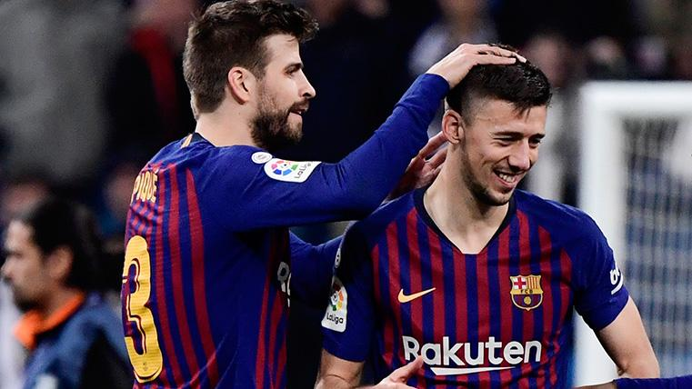 Piqué y Lenglet: el muro infranqueable del Barça en defensa esta temporada