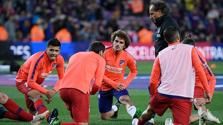 Tímidos silbidos de la afición del FC Barcelona a Antoine Griezmann en el Camp Nou