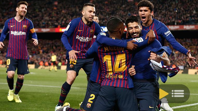Vídeo resumen: FC Barcelona 2 Atlético Madrid 0 (LaLiga J31)