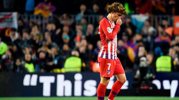 SE BUSCA:Antoine Griezmann, de desaparecido a abandonado en el Camp Nou