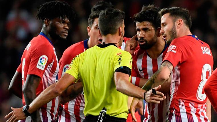 Contundente respuesta del Barça al Atlético por los árbitros