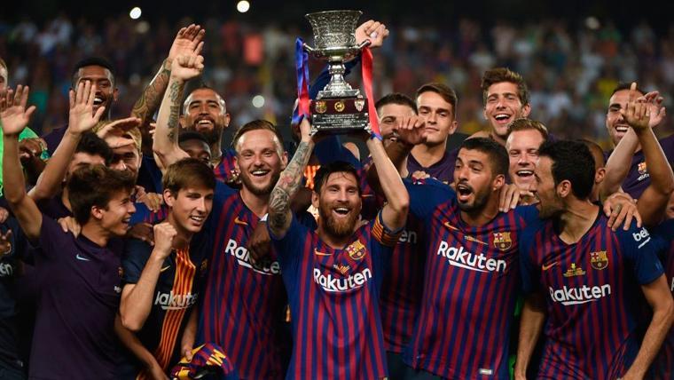 La Supercopa de España se disputará en enero de 2020 y fuera del país