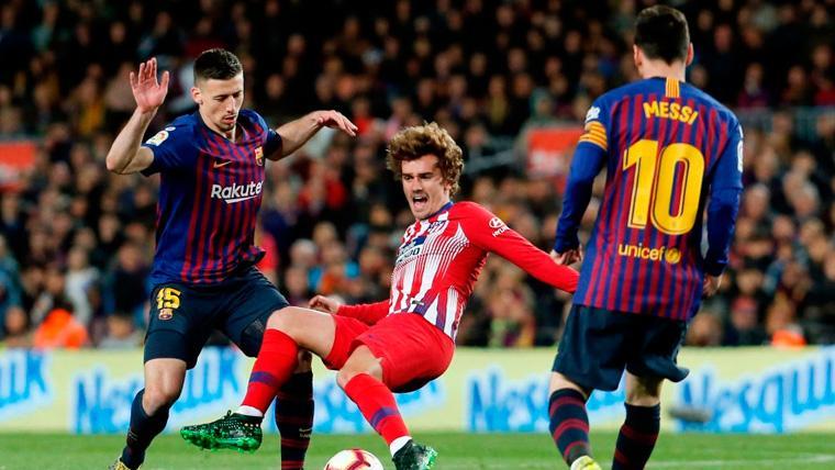 Aseguran que la plantilla del Barça no quiere que se fiche a Griezmann
