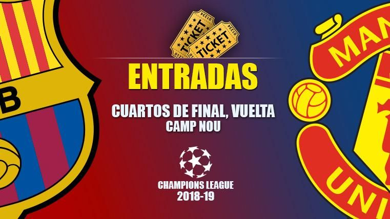 Tickets FC Barcelona vs Manchester United - Champions League