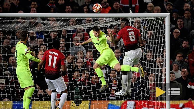Vídeo resumen: Manchester United 0 FC Barcelona 1 (1/4 Champions League)