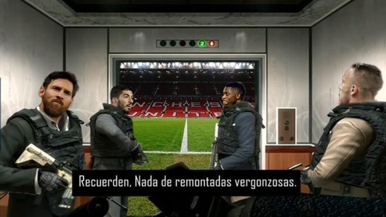 Estos son los mejores 'memes' del United-Barça de Champions