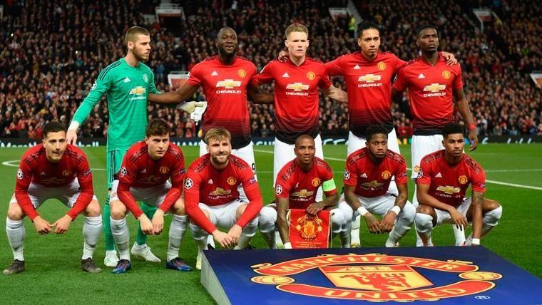 El once del Manchester United en la visita del FC Barcelona en Champions