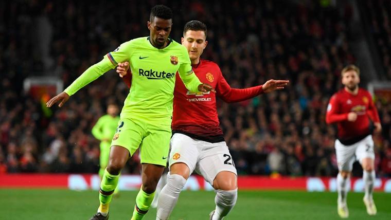 Nélson Semedo volvió a brillar cuando el Barça más le necesitaba