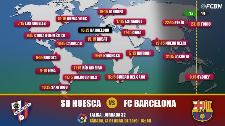 Huesca vs FC Barcelona en TV: Cuándo y dónde ver el partido de LaLiga Santander